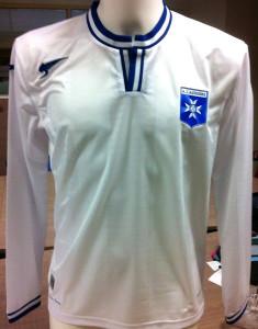AJ Auxerre 2015 maillot domicile