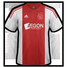 Ajax 2015 maillot domicile 2015