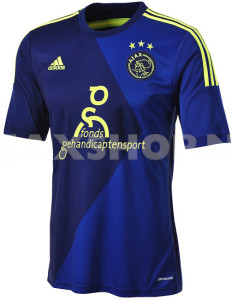 Ajax 2015 maillot exterieur football
