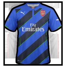Arsenal 2015 troisieme maillot third