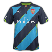 Arsenal 2015 troisieme maillot third