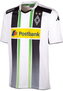 Borussia Monchengladbach 2015 maillot exterieur