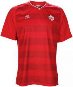 Canada 2014 maillot domicile foot