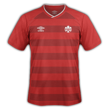 Canada 2014 maillot domicile football
