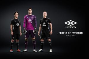 Everton 2014 2015 maillot exterieur et gardien