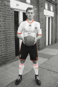 Fulham 2014 2015 maillot domicile