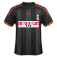 Fulham 2014 2015 maillot exterieur