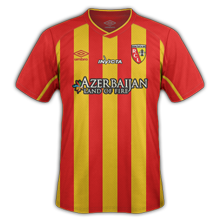 Lens 2015 maillot domicile football