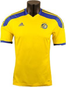Maccabi Tel Aviv 2015 maillot domicile