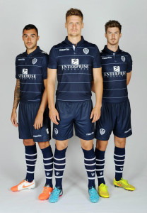 Maillot foot Leeds 2015 exterieur