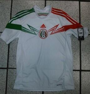 Mexique 2014 troisieme maillot third blanc coupe du monde 2014
