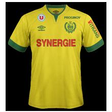 Nantes 2015 maillot foot domicile