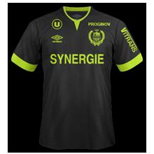 Nantes 2015 maillot foot exterieur