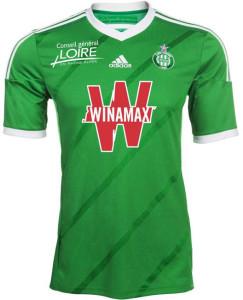 Saint-Etienne 2015 maillot ASSE domicile