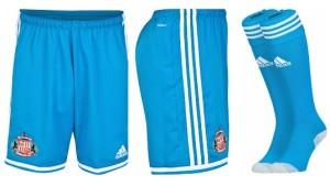Sunderland 2015 short chaussettes exterieur