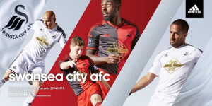 Swansea City 2015 maillots de football