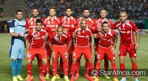 Tunisie maillot exterieur rouge Burrda