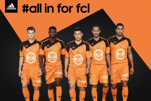 Adidas FC Lorient 2014 2015 maillot domicile football