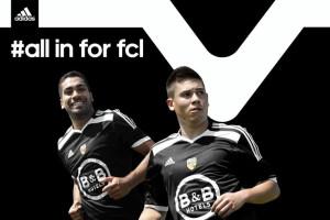Adidas FC Lorient 2014 2015 maillot third