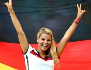 Allemagne babe jolie allemande maillot allemagne 2014 domicile