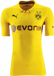 BVB 2015 maillot ligue des champions 14-15