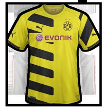 Borussia Dortmund 2015 maillot domicile