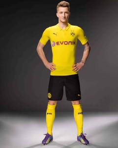 Borussia Dortmund 2015 maillot ligue des champions