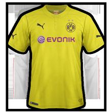 Borussia Dortmund 2015 quatrieme maillot fourth ligue des champions