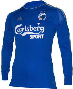 Copenhague 2015 maillot gardien bleu domicile