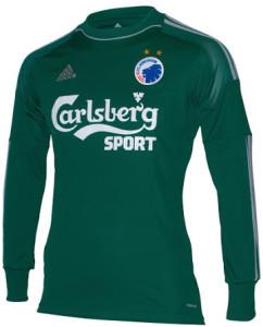 Copenhague 2015 maillot gardien vert exterieur