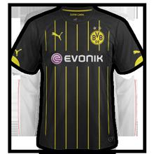 Dortmund 2015 maillot exterieur 14 15