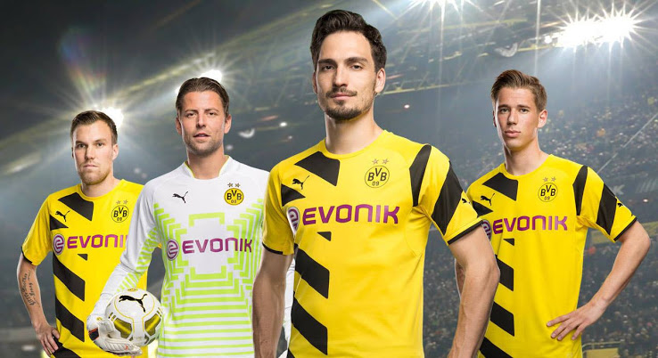 Dortmund maillot domicile officiel 2015