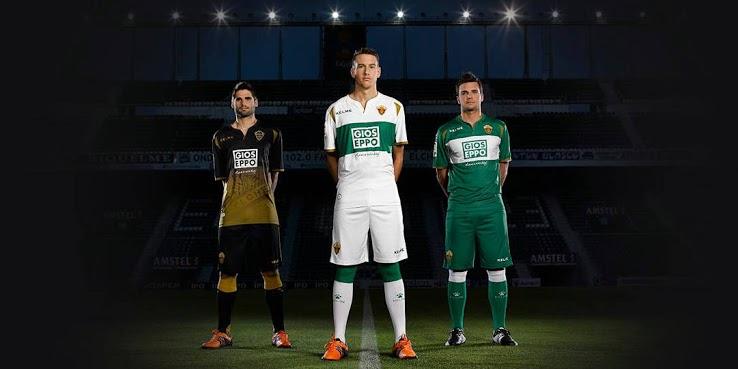 Elche 2015 maillots de football