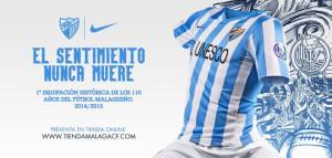 FC Malaga 2015 maillot domicile officiel