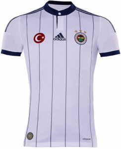 Fenerbahce 2015 maillot exterieur
