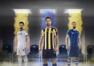 Fenerbahce 2015 maillots de football 14 15