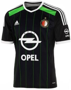 Feyenoord 2015 maillot exterieur football 14-15