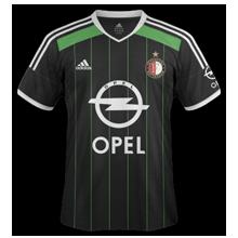 Feyenoord 2015 maillot exterieur football