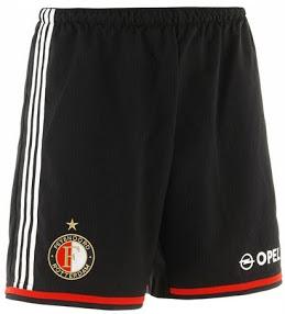 Feyenoord Rotterdam short domicile 14-15