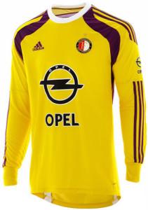 Feyenoord maillot gardien jaune 2015