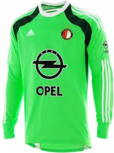 Feyenoord maillot gardien vert 2015