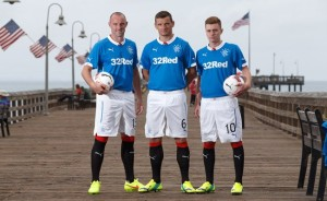 Glasgow Rangers 2015 maillot domicile