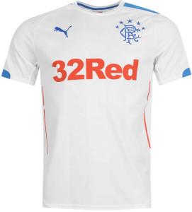 Glasgow Rangers 2015 maillot exterieur