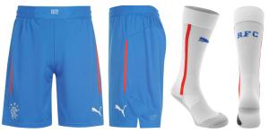 Glasgow Rangers 2015 short chaussettes exterieurs