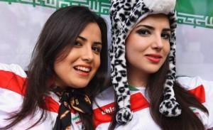 Iran sexy girls filles iraniennes maillot Iran 2014 coupe du monde