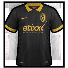 LOSC Lille troisième maillot de foot third 2015 fake