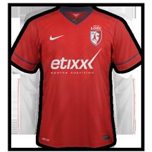 Lille 2015 maillot foot LOSC 2014 2015 domicile