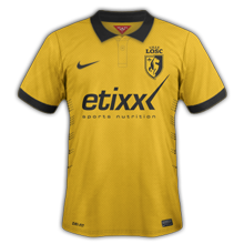 Lille 2015 maillot foot LOSC 2014 2015 exterieur