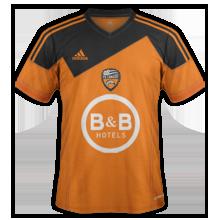 Lorient 2015 maillot domicile
