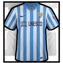 Malaga 2015 maillot domicile 2014 2015